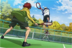 Ryoma and Kintaro completely destroying a High School pair