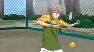 Shiraishi about to hit
