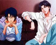 Atobe Keigo and Oshitari Yushi