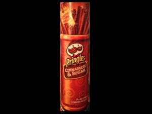 Pringles cinnamon and sugar