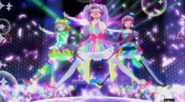 PriPara プリパラ らぁら&みれぃ&そふぃ「Pretty Prism Paradise 」かいほうオトメヴァルキュリア 完成版 YouTubeii
