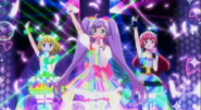 PriPara プリパラ らぁら&みれぃ&そふぃ「Pretty Prism Paradise 」かいほうオトメヴァルキュリア 完成版 YouTubet