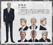 Principal anime design