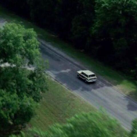 thumb|The hunter's Jeep Grand Cherokee