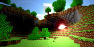 Minecraft cave by harryisland-d31jtwd