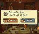 Baron Statue