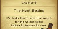 The Hunt Begins
