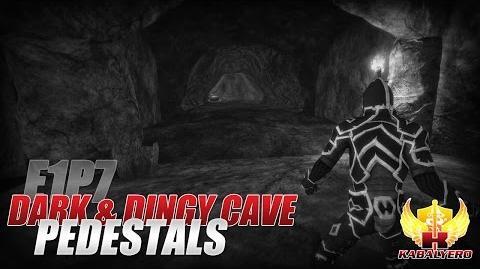 Project Gorgon Pre-Alpha Gameplay E1P7 Dark & Dingy Cave ★ Pedestals