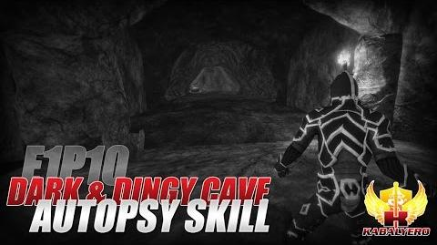 Project Gorgon Pre-Alpha Gameplay E1P10 Dark & Dingy Cave ★ Autopsy Skill