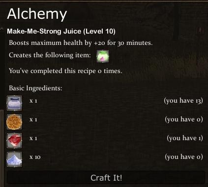 Make-me-Strong Juice Recipe