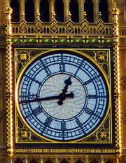 Clock, St. Stephen's Tower or now Elizabeth Tower