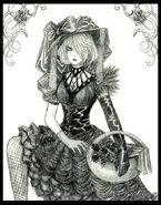 Gothic Flowergirl