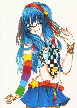 Rainbow Girl Minako by shiorimaster