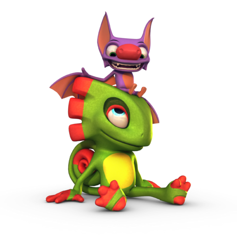 File:Yooka and Laylee Sitting.png