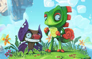 Yooka and Laylee Concept Artwork