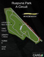Ruapuna Park A Circuit