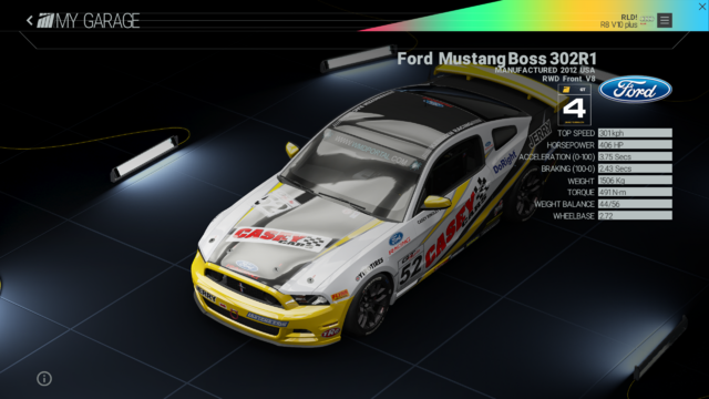 File:Project Cars Garage - Ford Mustang Boss 302R1.png