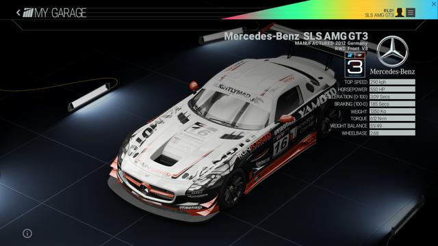 File:Project Cars Garage - Mercedes-Benz SLS AMG GT3.png
