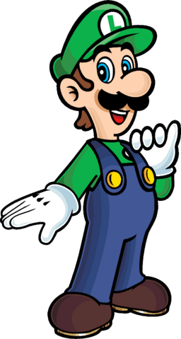 File:I m a luigi number one by blistinaorgin-d4xummm.png