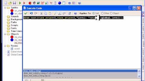 How to program a simple level-up system in Game Maker