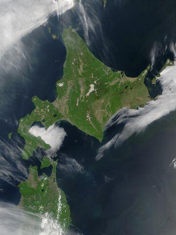 File:Satellite image of Hokkaido, Japan in May 2001.jpg