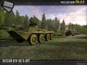 Russian btr80 apc