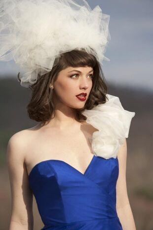 Kenley collins bluedress