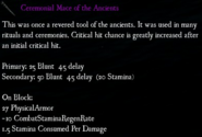 BIGthumbs Ceremonial Mace of the Ancients