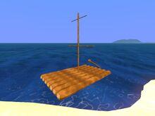 Overworld Sailing Raft