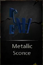 MetallicSconce