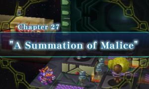 Chapter 27 - A Summation of Malice