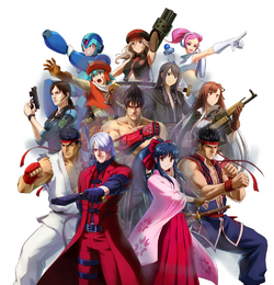PXZ 3DS Box Cover Cast