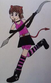 Chiyo the devil girl by akumatenshiketsueki-d55qzq9