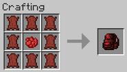 Big red backpack