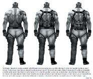 Pro1 Blackwatch Supersoldier Concept art