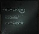 Blacknet/Facebook application