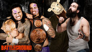 Battleground2014 tag title match