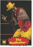 2012 WWE Heritage Trading Cards The Godfather 74