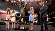 Ultimate Warrior Statue unveiled at Axxess.9