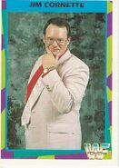 1995 WWF Wrestling Trading Cards (Merlin) Jim Cornette 27