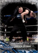 2017 WWE Road to WrestleMania Trading Cards (Topps) Brock Lesnar 45