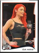 2014 WWE (Topps) Eva Marie 20