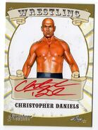 2016 Leaf Signature Series Wrestling Christopher Daniels 18
