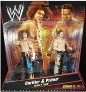 Carlito and Primo Mattel toys