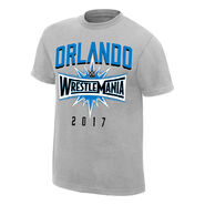 WrestleMania 33 Sport Silver Youth T-Shirt