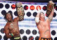 CM Punk & Kofi Kingston