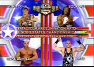 John Cena vs Rene Dupree vs Booker T vs Rob Van Dam