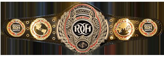 Image Roh World Title Png Pro Wrestling Fandom