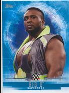 2017 WWE Undisputed Wrestling Cards (Topps) Big E 4