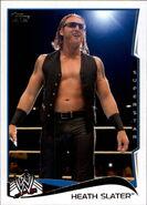 2014 WWE (Topps) Heath Slater 69